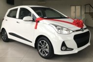 Xe Hyundai Grand I10 màu trắng, 120 triệu nhận xe, nhiều quà tặng.  giá 405 triệu tại Tp.HCM
