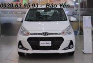 Hyundai Grand I10 1.2 MT màu trắng,khuyến mãi 50tr, còn 370tr,đưa 120tr nhận xe giá 370 triệu tại Tp.HCM