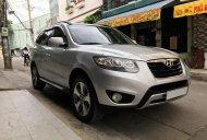 Bán Hyundai Santa Fe màu bạc 2012, máy dầu, full option, số tự động nhập khẩu giá 678 triệu tại Tp.HCM