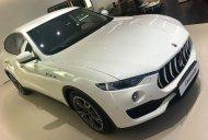 Bán xe Maserati Levante 2018, màu trắng Bianco, nhập khẩu chính hãng. LH: 0978877754 hỗ trợ tốt nhất giá 6 tỷ 150 tr tại Hà Nội