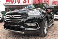 Cần bán xe Hyundai Santa Fe CRDi năm 2018, màu đen giá 1 tỷ 185 tr tại Hà Nội