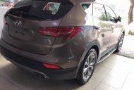Bán xe Hyundai Santa Fe Crdi đời 2015, màu nâu, nhập khẩu giá 1 tỷ 10 tr tại Hà Nội
