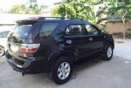 Bán Toyota Fortuner V sản xuất năm 2009, màu đen chính chủ giá 495 triệu tại Tp.HCM