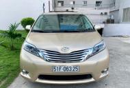 Cần bán Toyota Sienna 3.5 Limited AWD năm sản xuất 2010, màu vàng, nhập khẩu một chủ giá 1 tỷ 850 tr tại Tp.HCM