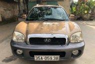 Bán Hyundai Santa Fe Gold 2.0 AT đời 2003, màu vàng, nhập khẩu nguyên chiếc  giá 265 triệu tại Hải Dương