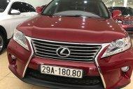 Bán Lexus RX350 Luxury đời 2011, màu đỏ, nhập khẩu Mỹ, đăng ký 2011, đã lên phom mới giá 1 tỷ 650 tr tại Hà Nội