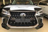 Lexus LX570 Super Sport S 2020 màu đen, nội thất nâu da Bò, xe xuất Trung Đông mới 100% giá 890 triệu tại Hà Nội