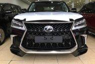 Bán Lexus LX570 Super Sport S 2020 xuất Trung Đông màu đen, nội thất da bò giá 8 tỷ 900 tr tại Hà Nội