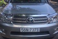 Cần bán xe Toyota Fortuner G sản xuất năm 2009, màu bạc giá 625 triệu tại Tp.HCM
