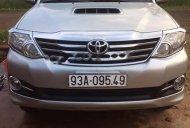 Cần bán lại xe Toyota Fortuner 2.5G 2015, màu bạc giá 820 triệu tại Bình Phước