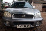 Cần bán xe Hyundai Santa Fe đời 2004, màu bạc, hoạt động bình thường giá 245 triệu tại Vĩnh Phúc
