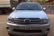 Cần bán Toyota Fortuner đời 2010, màu bạc, nhập khẩu nguyên chiếc số sàn giá 600 triệu tại Đắk Lắk