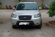 Bán Hyundai Santa Fe 2.2 sản xuất năm 2008, màu bạc, nhập khẩu giá 465 triệu tại Quảng Ninh