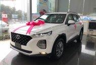 Bán ô tô Hyundai Santa Fe 2.4L HTRAC năm sản xuất 2019, màu trắng giá 1 tỷ 135 tr tại Hải Phòng