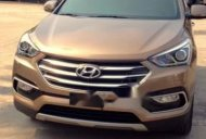 Cần bán xe Hyundai Santa Fe năm 2017, màu nâu, xe nhập giá 1 tỷ 50 tr tại Hải Phòng