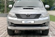 Bán Toyota Fortuner 2.5MT 2015, máy dầu, số sàn, màu bạc, biển Hà Nội giá 818 triệu tại Hà Nội
