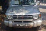 Cần bán lại xe Mitsubishi Pajero sản xuất năm 2003, màu bạc, xe nhập  giá 195 triệu tại Tp.HCM