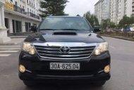Bán gấp Toyota Fortuner MT đời 2015, màu đen, xe gia đình giá 830 triệu tại Hà Nội