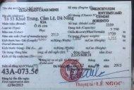 Bán lại xe Sorento đời 2013 - xe đi bốc êm giá 550 triệu tại Đà Nẵng