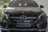 Cần bán Mercedes-Benz GLA45 AMG 4Matic đăng ký 2018, màu nâu, 500km, xe nhập khẩu, 2% thuế trước bạ giá 2 tỷ 199 tr tại Tp.HCM