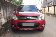 Cần bán xe Ford Everest 2014 tự động dầu màu đỏ giá 653 triệu tại Tp.HCM