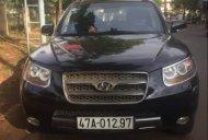 Bán Hyundai Santa Fe đời 2009, màu đen số tự động, giá tốt giá 605 triệu tại Đắk Lắk