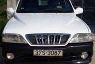 Cần bán Ssangyong Musso năm 2003, màu trắng giá 105 triệu tại Gia Lai