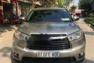 Bán Toyota Highlander đời 2014, nhập khẩu từ Mỹ, màu cát chát, nội thất da giá 1 tỷ 550 tr tại Hà Nội