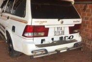 Bán ô tô Ssangyong Musso 2001, màu trắng, máy dầu giá 120 triệu tại Gia Lai