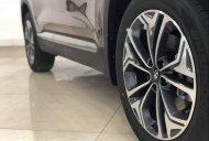 Bán Hyundai Santa Fe Premium 2019, màu nâu giá 1 tỷ 295 tr tại Tp.HCM