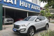 Cần bán Hyundai Santa Fe 2.4 AT năm sản xuất 2013, màu bạc, nhập khẩu nguyên chiếc giá 780 triệu tại Hà Nội