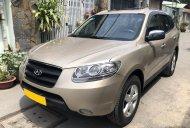 Bán xe Hyundai Santafe 2009 số sàn, màu vàng cát giá 397 triệu tại Tp.HCM