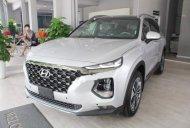 Bán xe Hyundai Santa Fe sản xuất 2019, màu bạc giá 1 tỷ 185 tr tại Tp.HCM