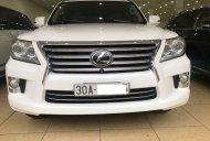 Bán Lexus LX 570 Mỹ màu trắng nội thất kem model 2014  giá 4 tỷ 390 tr tại Hà Nội