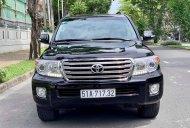 Bán Toyota Land Cruiser sản xuất năm 2013, màu đen, xe nhập giá 2 tỷ 450 tr tại Tp.HCM