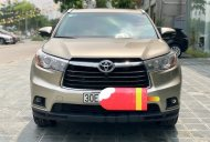 Cần bán Toyota Highlander LE 2.7 SX 2016, màu vàng cát, xe nhập Mỹ đã lên full option. LH: 0982.84.2838 giá 1 tỷ 780 tr tại Hà Nội