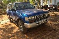 Bán Toyota Land Cruiser 1990, màu xanh lam, xe nhập, còn mới giá 110 triệu tại Lâm Đồng