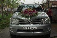 Bán Toyota Fortuner 2.5G năm 2011, màu bạc, chính chủ  giá 580 triệu tại Thái Bình