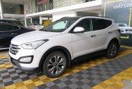 Bán xe Hyundai Santa Fe 2.4AT 4WD năm sản xuất 2015, màu trắng giá 858 triệu tại Tp.HCM