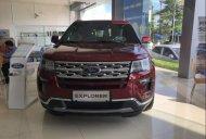 Bán Ford Explorer 2018, màu đỏ, nhập khẩu Mỹ giá 2 tỷ 180 tr tại Hà Nội