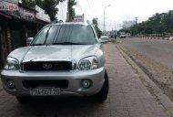 Cần bán Hyundai Santa Fe Gold 2.0 AT năm sản xuất 2004, màu bạc, đăng ký tên tư nhân chính chủ giá 320 triệu tại Bình Định