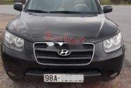 Bán Hyundai Santa Fe 2.2 MT 2008 màu đen, sản xuất năm 2008, xe chính chủ giá 450 triệu tại Bắc Giang