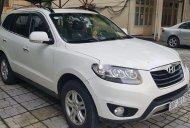 Bán Hyundai Santa Fe sản xuất 2011, màu trắng, nhập khẩu giá 780 triệu tại Hà Nội