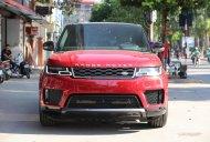 Bán ô tô LandRover Sport HSE 3.0 năm sản xuất 2018, màu đỏ, nhập khẩu giá 6 tỷ 390 tr tại Hà Nội