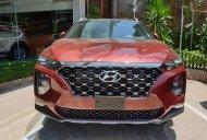 Bán xe Hyundai Santafe 2019 máy xăng, bản cao cấp màu đỏ giá 1 tỷ 205 tr tại Tp.HCM