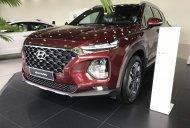 Bán Hyundai Santa Fe premium sản xuất năm 2019, màu đỏ giá 1 tỷ 225 tr tại Tp.HCM