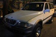Bán Ssangyong Musso GX, máy dầu turbo đời 2004, màu trắng giá 135 triệu tại Hà Nội