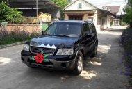 Cần bán xe Ford Escape đời 2004, màu đen, xe nhập đẹp như mới giá 139 triệu tại Hà Tĩnh