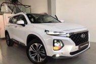 Cần bán xe Hyundai Santa Fe năm 2019, màu trắng giá 1 tỷ 140 tr tại Tp.HCM