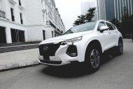 Cần bán Hyundai Santa Fe đời 2019, màu trắng giá 1 tỷ 140 tr tại Tp.HCM
